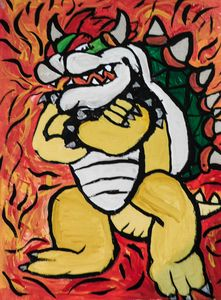Bowser - Painting for love