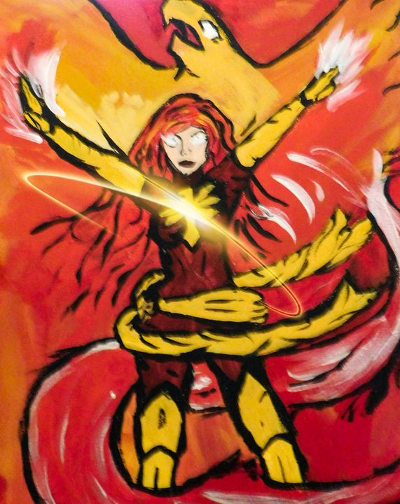 Rise of the Phoenix - Painting for love
