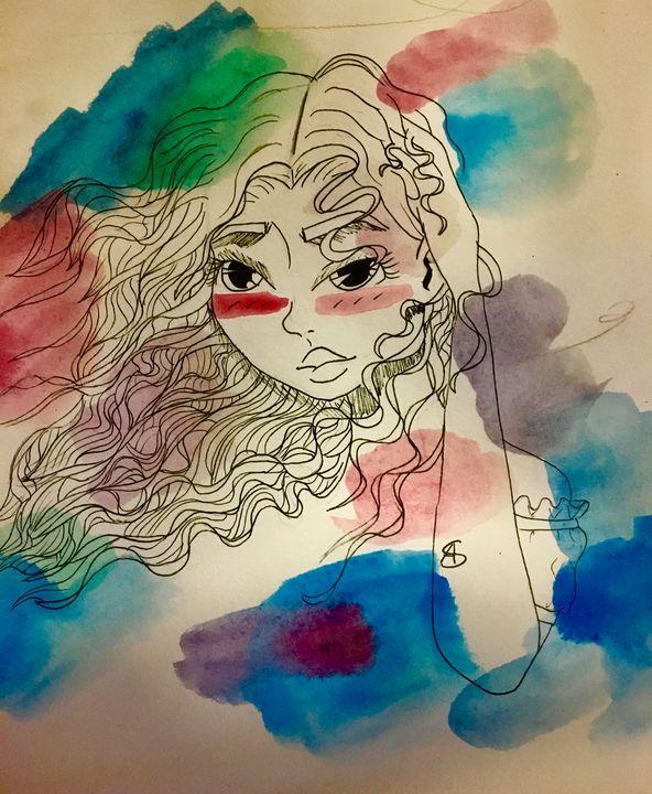 The Wind - The-Plain-Artist