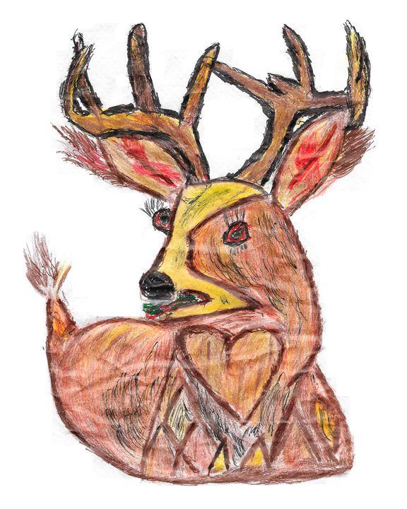 Deer on Alert - TimPeterson