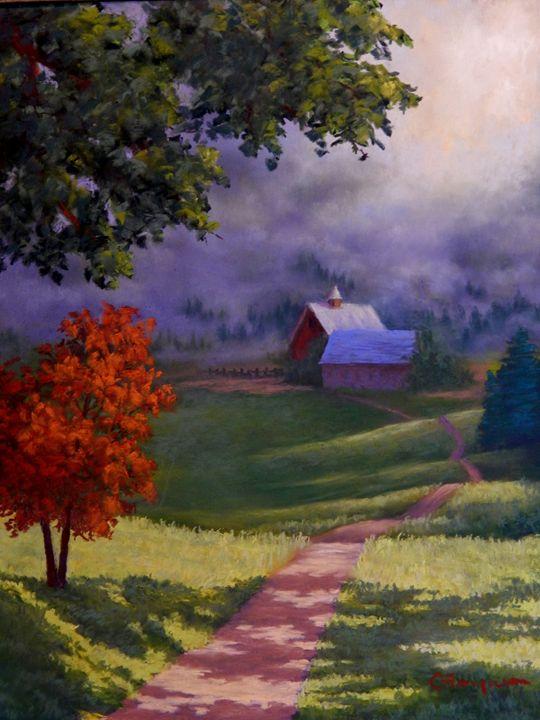 Kentucky Road - candice ferguson fine art