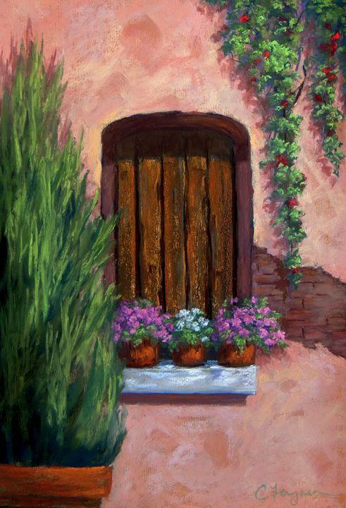 A window in Rome - candice ferguson fine art