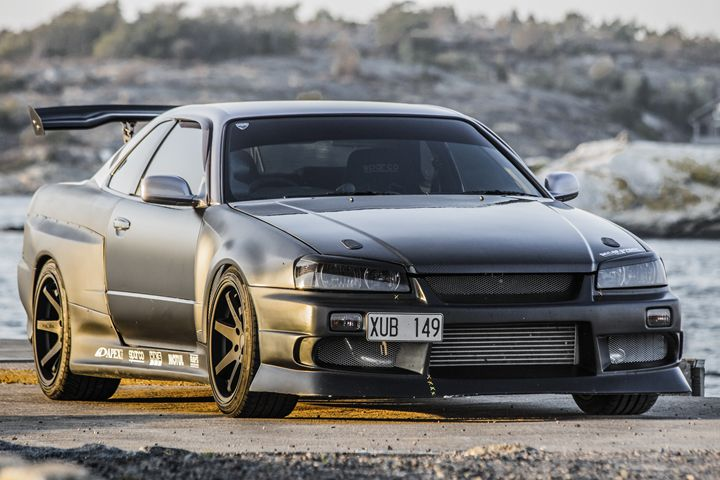 Nissan Skyline R34 - Inglund Photography