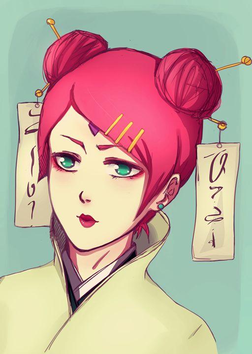 Uzumaki Mito - Yumejin's Art