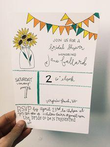 Bridal Shower Invite (can be custom)