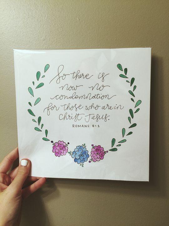 Romans 8:1 - Chelsea Bair