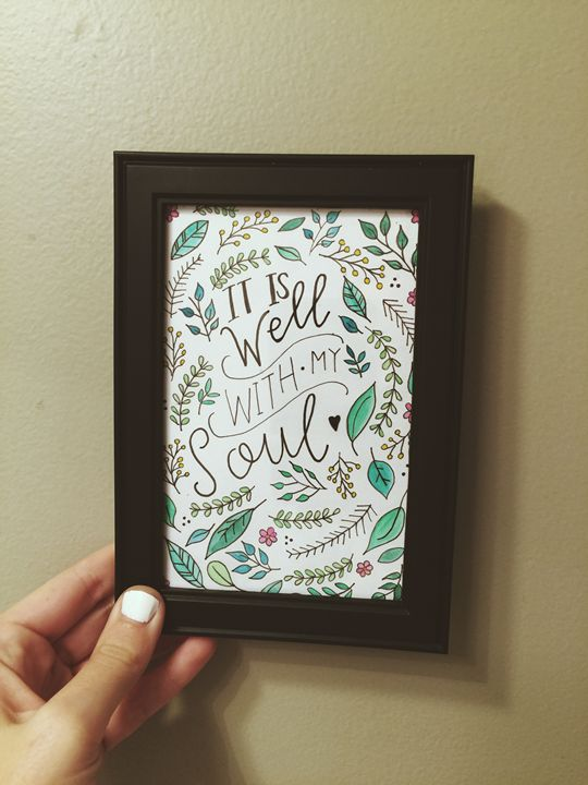 It Is Well With My Soul - Chelsea Bair