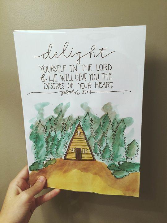 Psalm 37:4 - Chelsea Bair