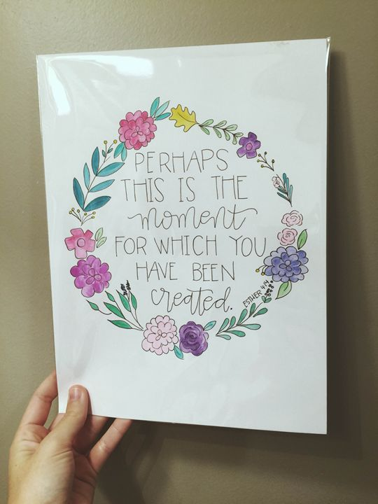 Esther 4:14 - Chelsea Bair