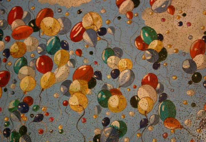 Colourful Balloons - Marlena Art