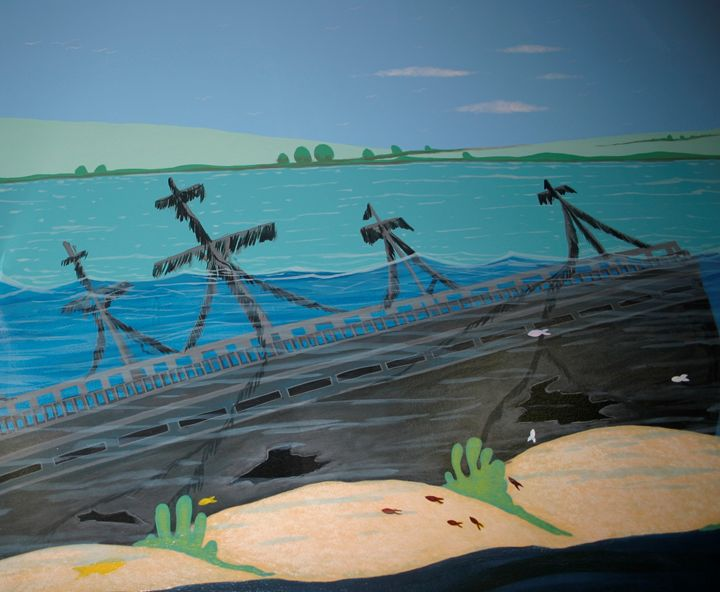 Shipwreck - Marlena Art