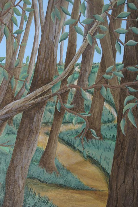 Soft Forest - Marlena Art