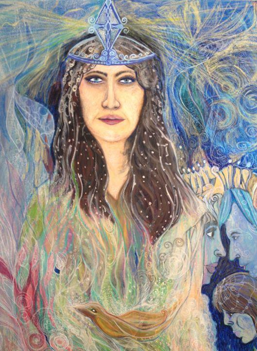 Spiritual guide - Marlena Art