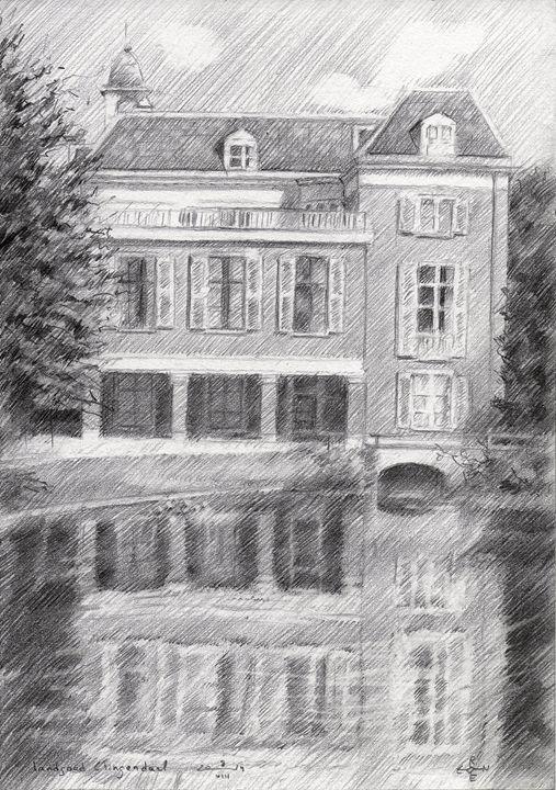 Estate Clingendael - 08-08-14 - Corné Akkers art works