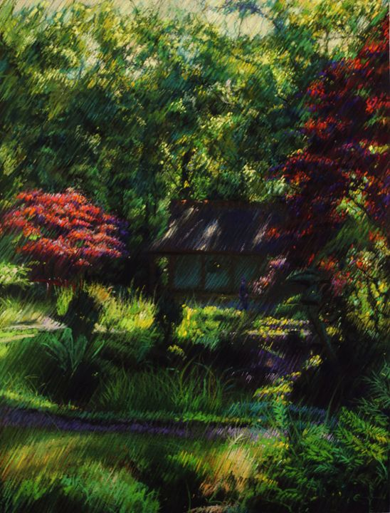 The Japanese garden 2 (2014) - Corné Akkers art works