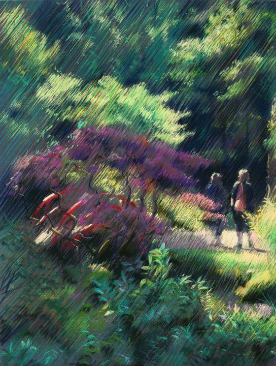 Japanese garden 1 (2014) - Corné Akkers art works