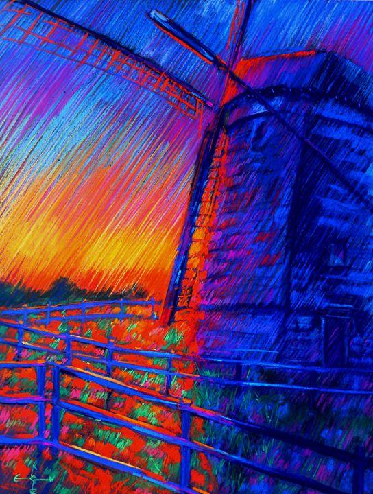Mill 'De Vlieger' - 09-06-14 - Corné Akkers art works