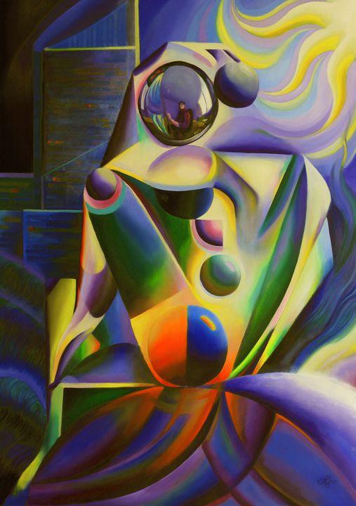 The madonna of The Hague (2015) - Corné Akkers art works