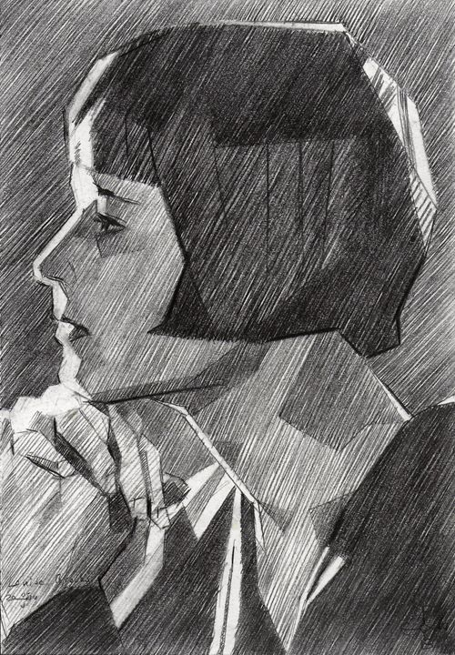 Louise Brooks - 05-05-14 - Corné Akkers art works