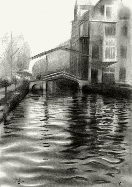 Leiden - 16-11-15 (sold) - Corné Akkers art works