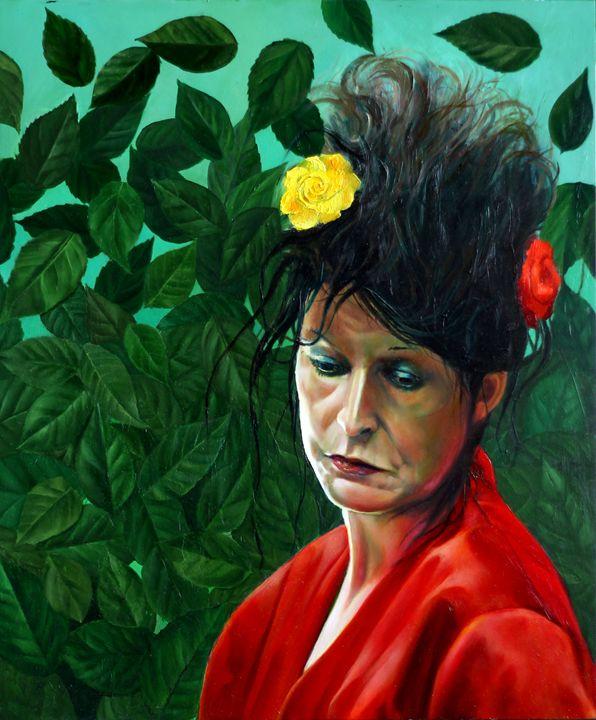 Henriëtte (2013 (sold) - Corné Akkers art works