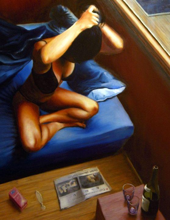 Lust (2007 (sold) - Corné Akkers art works