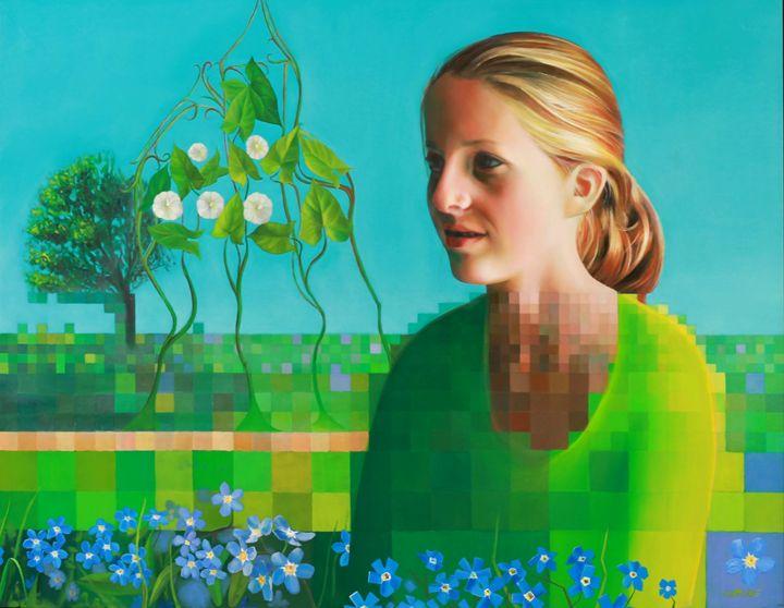 Mira (2010) (sold) - Corné Akkers art works