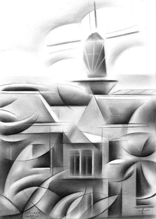 Schiedam - 21-08-16 - Corné Akkers art works