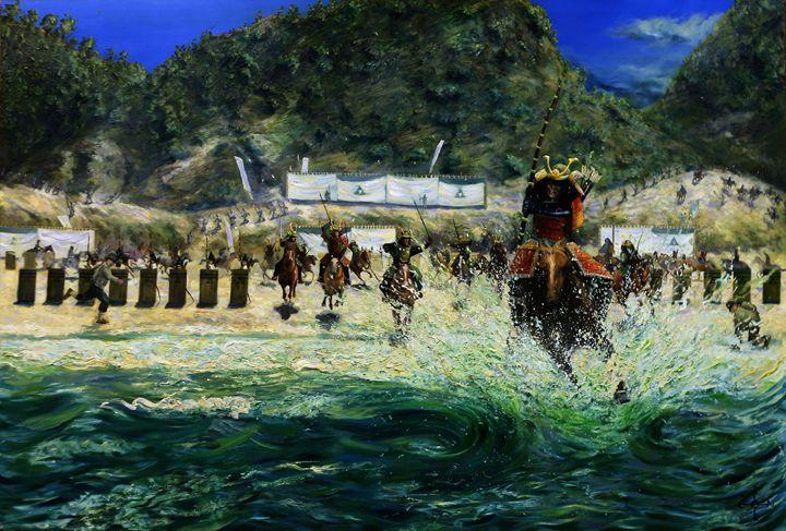 Hakata Bay - 29-06-15 (sold) - Corné Akkers art works