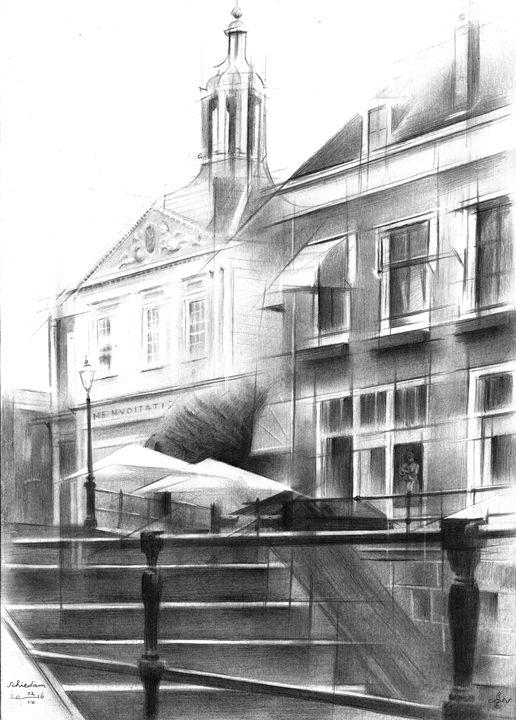 Schiedam - 02-09-16 (sold) - Corné Akkers art works