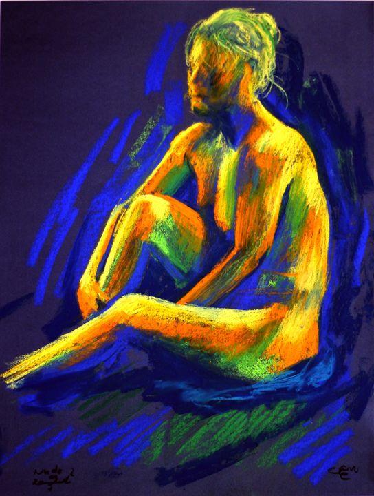 Hélène 1 - session 09-01-16 - Corné Akkers art works