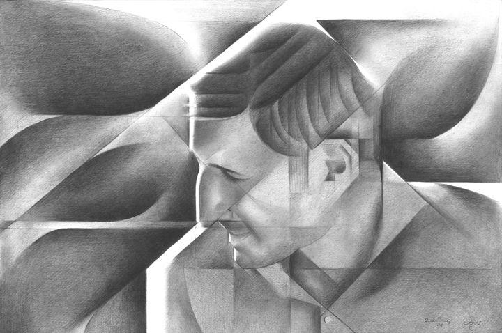 Eben Pagan - 05-08-17 (sold) - Corné Akkers art works