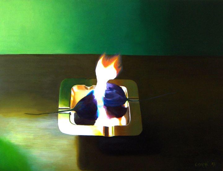 Flames (2007) - Corné Akkers art works