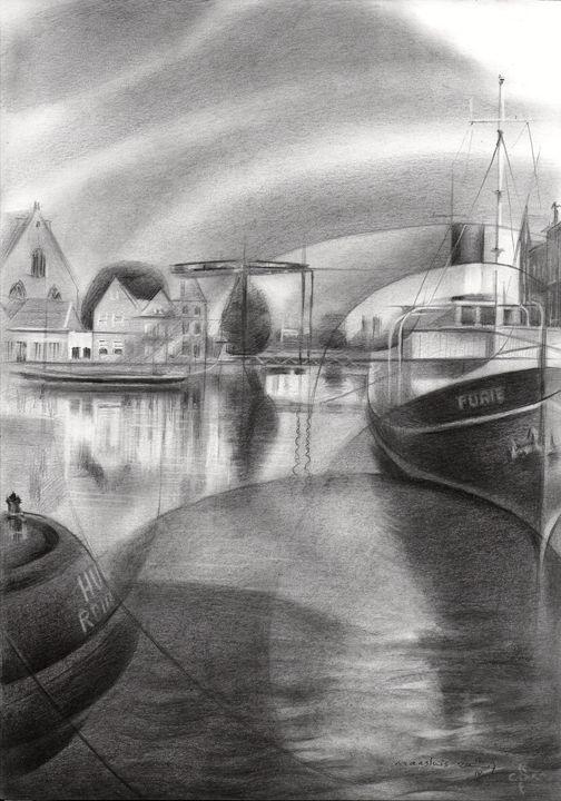 Maassluis - 12-09-17 - Corné Akkers art works