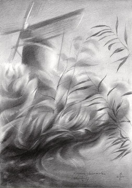 Nieuwe Veenmolen - 19-10-17 - Corné Akkers art works