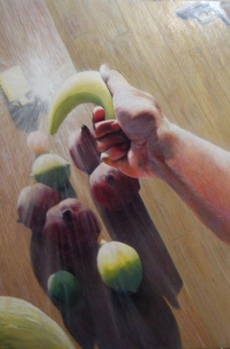 Fruits under arrest (2006) (sold) - Corné Akkers art works