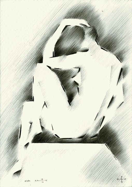 Nude - 19-04-15 - Corné Akkers art works