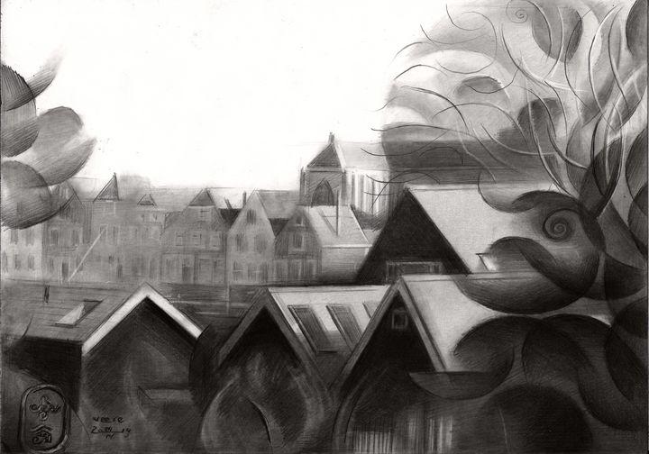Veere – 04-04-19 - Corné Akkers art works