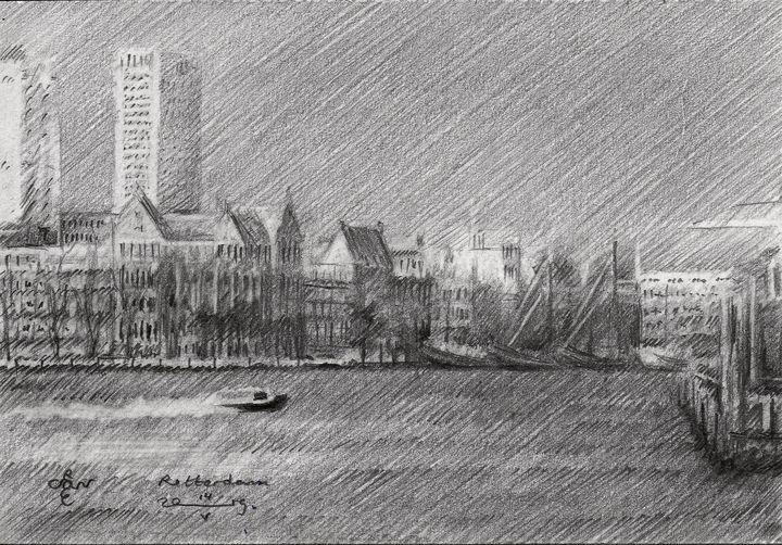 Rotterdam – 14-05-19 - Corné Akkers art works