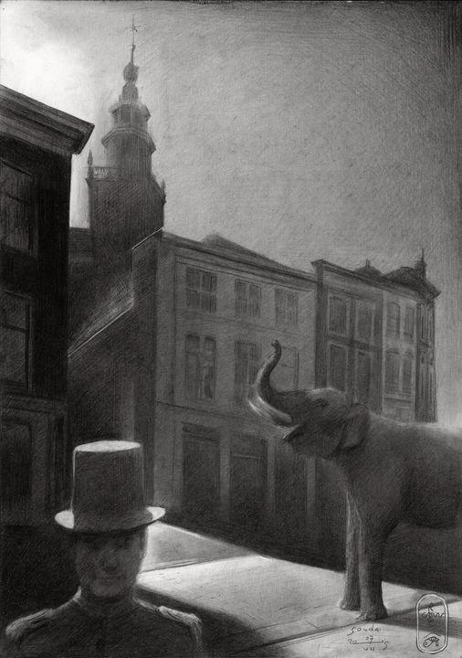 Gouda – 07-07-19 - Corné Akkers art works