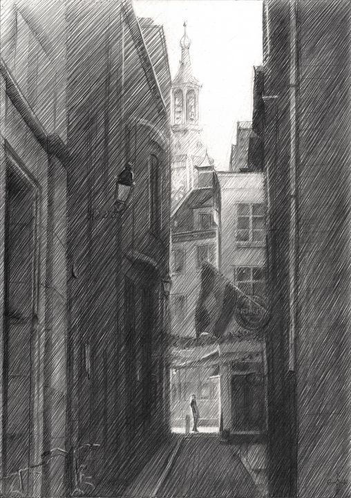 The Hague (Halstraat) - 12-03-15 - Corné Akkers art works