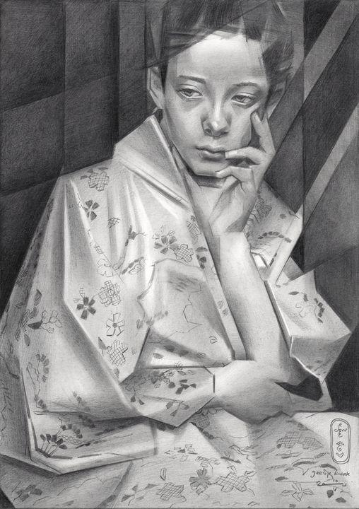 Geesje Kwak – 10-05-21 (sold) - Corné Akkers art works