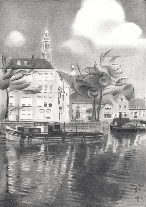 Maassluis – 08-06-21 - Corné Akkers art works