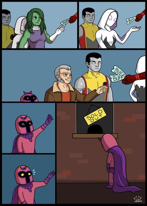 Magneto Deserves a Buff - Cat Murdock