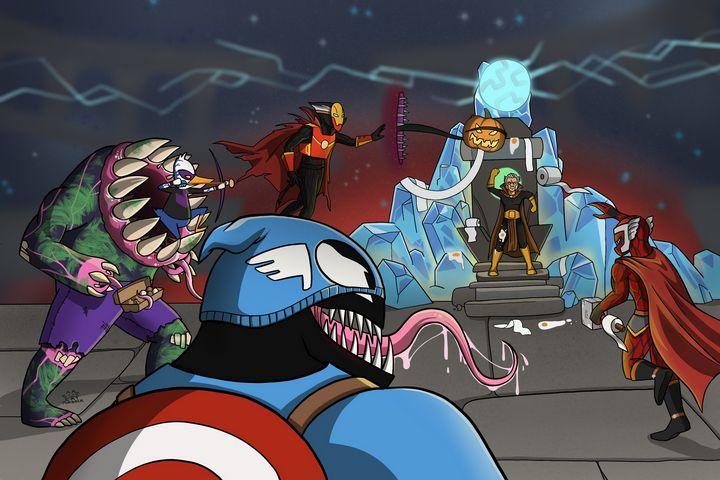 Halloween Symbiote Shenanigans - Cat Murdock