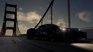 Ford GT at night