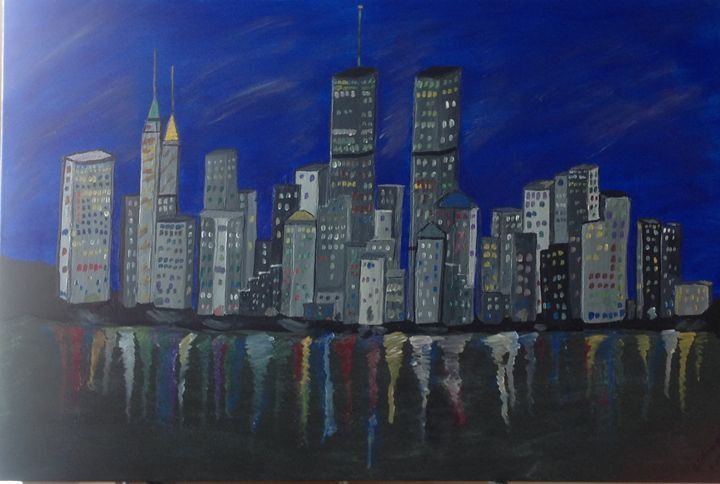 City scape NYC - Dahleen