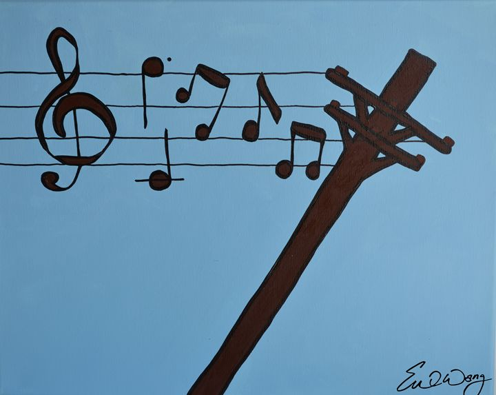 Music in the Air - Eve's Prints