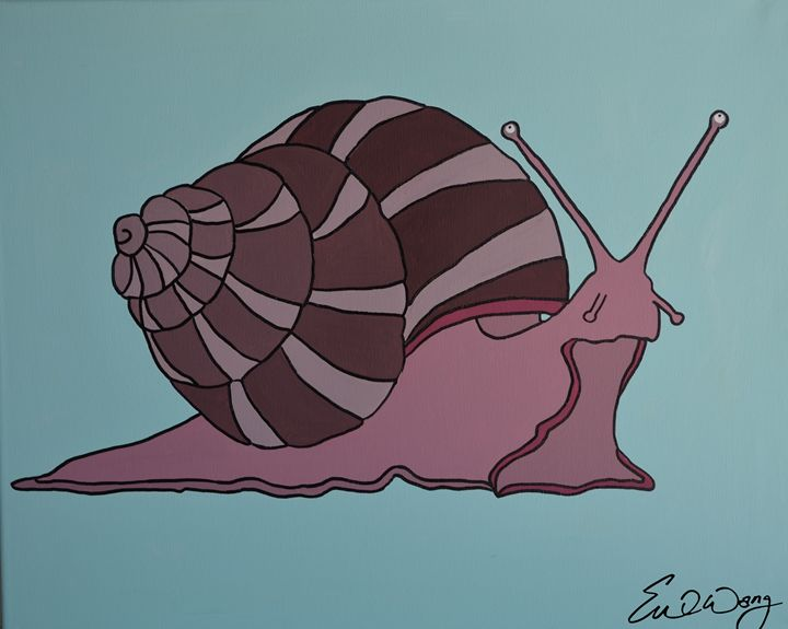 Snail Sunday - Eve's Prints