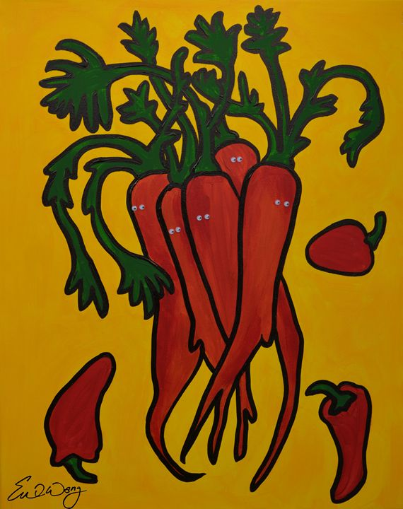 Carrots n' Chillis - Eve's Prints